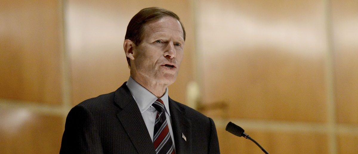 Sen. Richard Blumenthal (Credit: REUTERS/Andrew Gombert/Pool)