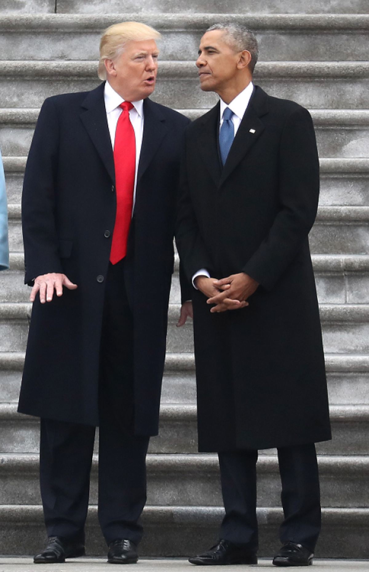 President Donald Trump and former President Barack Obama (Credit: REUTERS/Rob Carr/Pool)