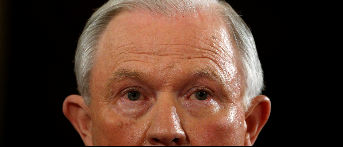 Sen. Jeff Sessions (Credit: REUTERS/Kevin Lamarque)