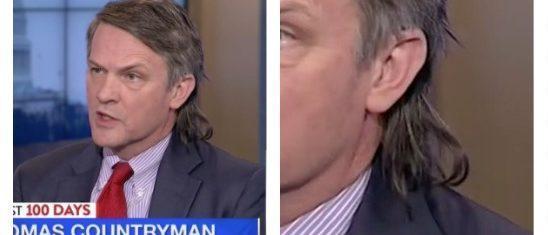 Thomas Countryam, Thomas Countryman's mullet (MSNBC)