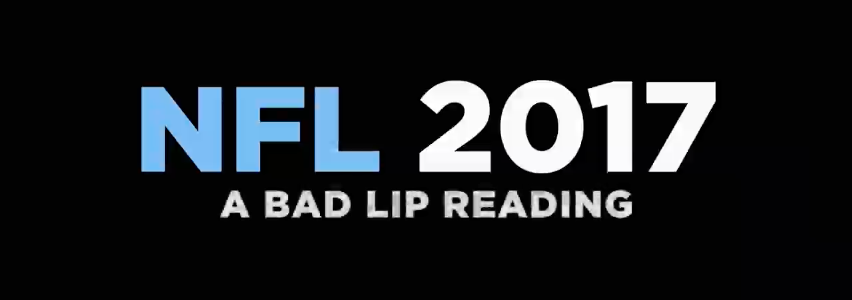 Bad Lip Reading NFL 2017 (photo: YouTube Screenshot)