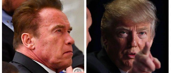 Arnold Schwarzenegger, Donald Trump (Getty Images)