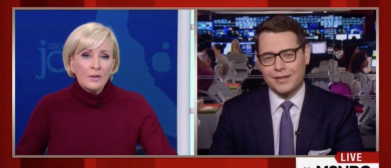 Mika Brzezinski, Nick Confessore (MSNBC)