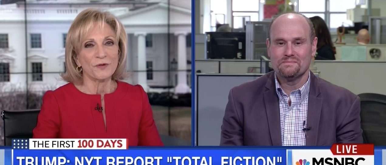 Andrea Mitchell, Glenn Thrush (MSNBC)