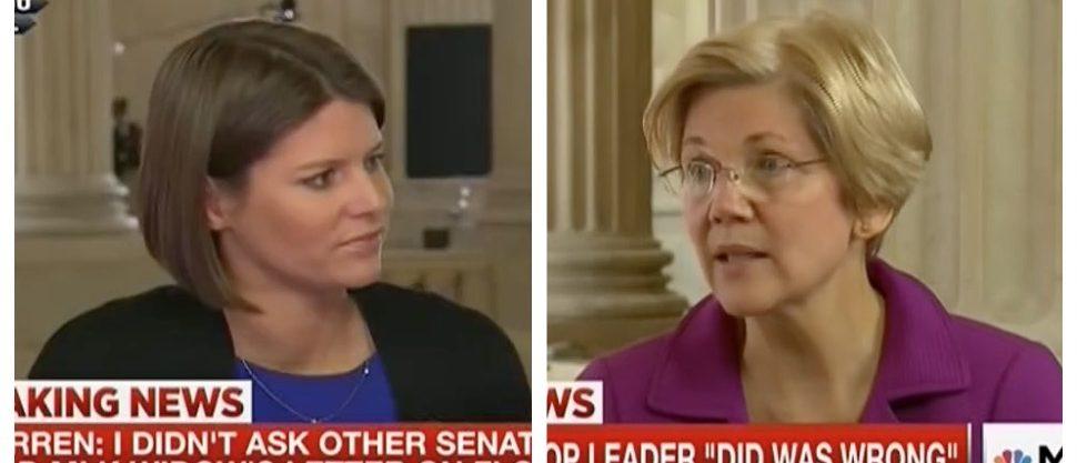 Kasie Hunt, Elizabeth Warren (MSNBC)