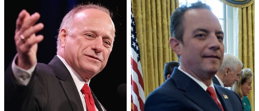 Steve King, Reince Priebus (Getty Images)