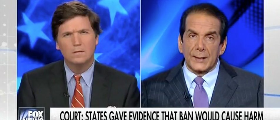 Tucker Carlson, Charles Krauthammer (Fox News)