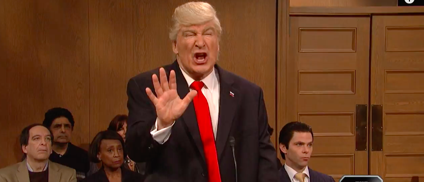 Saturday Night Live with Alec Baldwin (photo: YouTube Screenshot)