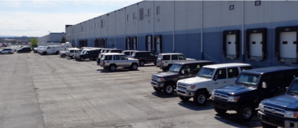 State Department Office of the Inspector General found 129 vehicles sitting in a Maryland facility, April 12, 2016. (Photo: Office of the Inspector General audit)