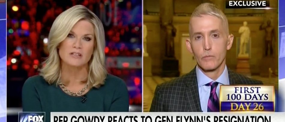 Martha MacCallum, Trey Gowdy (Fox News)