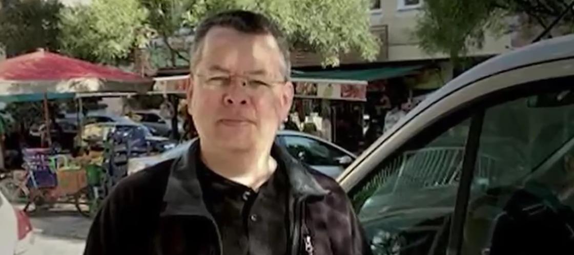 Pastor Andrew Brunson (Youtube screen grab)