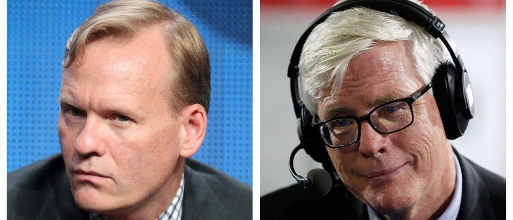 John Dickerson, Hugh Hewitt (Getty Images)