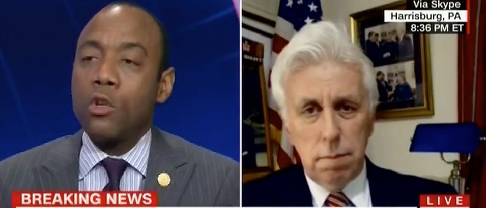 Cornell Brooks, Jeffrey Lord (CNN)