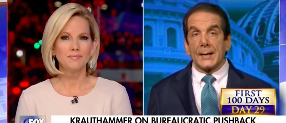 Shannon Bream, Charles Krauthammer (Fox News)