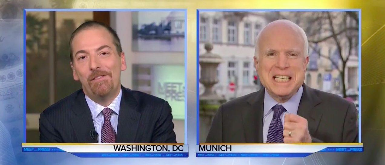 Chuck Todd, John McCain (MSNBC)