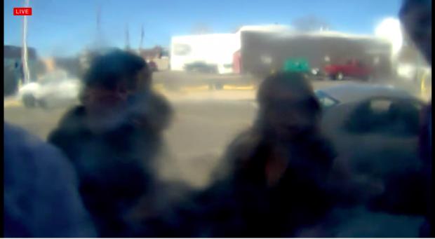 Shia LaBeouf Camera (photo: He will not divide us Screenshot)