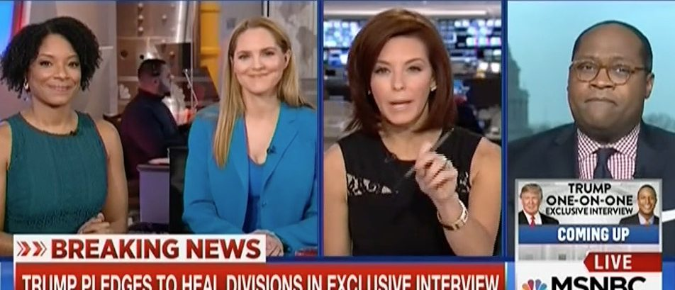 Stephanie Ruhle cuts off Robert Traynham (MSNBC)