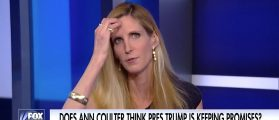 'PRESIDENT SCHUMER!' — Ann Coulter Is Furious With Trump Over Omnibus