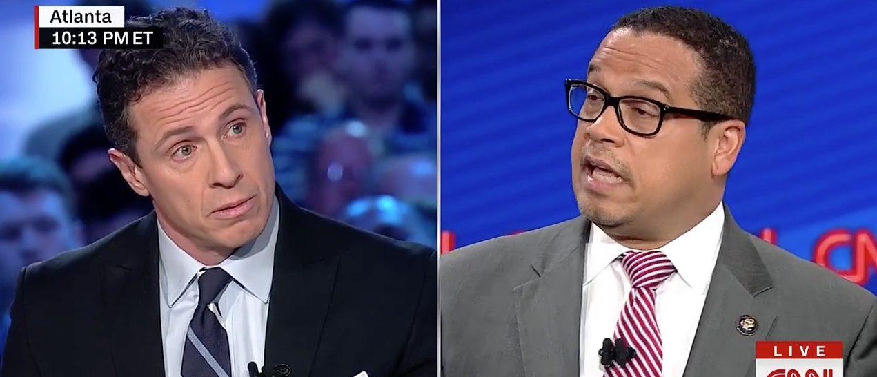 Chris Cuomo, Keith Ellison (CNN)