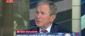 George W. Bush Favors A 'Welcoming' Immigration Policy, Says Media Is 'Indispensable' To Democracy