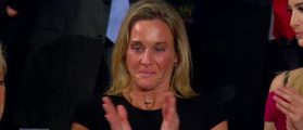President Trump Honors Widow Of Slain Navy SEAL During Address On Capitol Hill