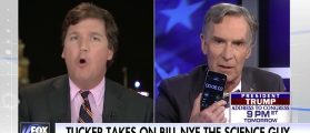 Tucker, Bill Nye The Science Guy Clash On Climate Change [VIDEO]