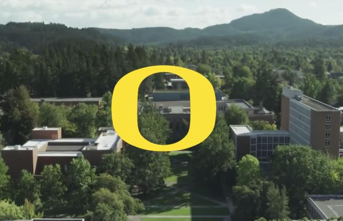 University of Oregon YouTube screenshot UOregon