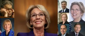 These Senators Opposed Vouchers Backer Betsy DeVos But Send THEIR Kids To Fancypants Private Schools