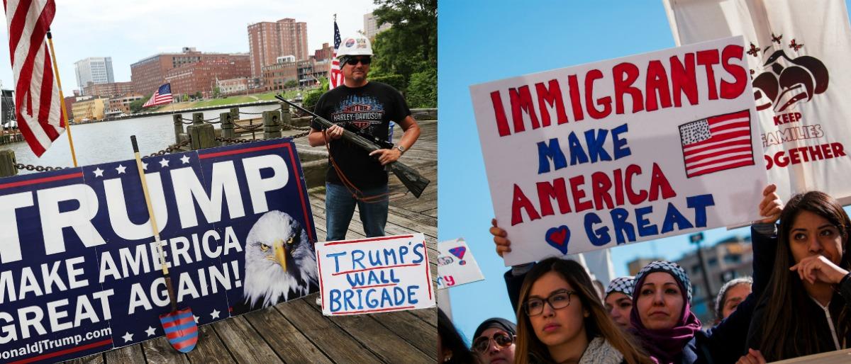 immigration Getty Images/Spencer Platt, Getty Images/Darren Hauck