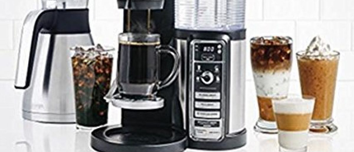 There are so many coffee options with the Ninja coffee bar brewer (Photo via Amazon)