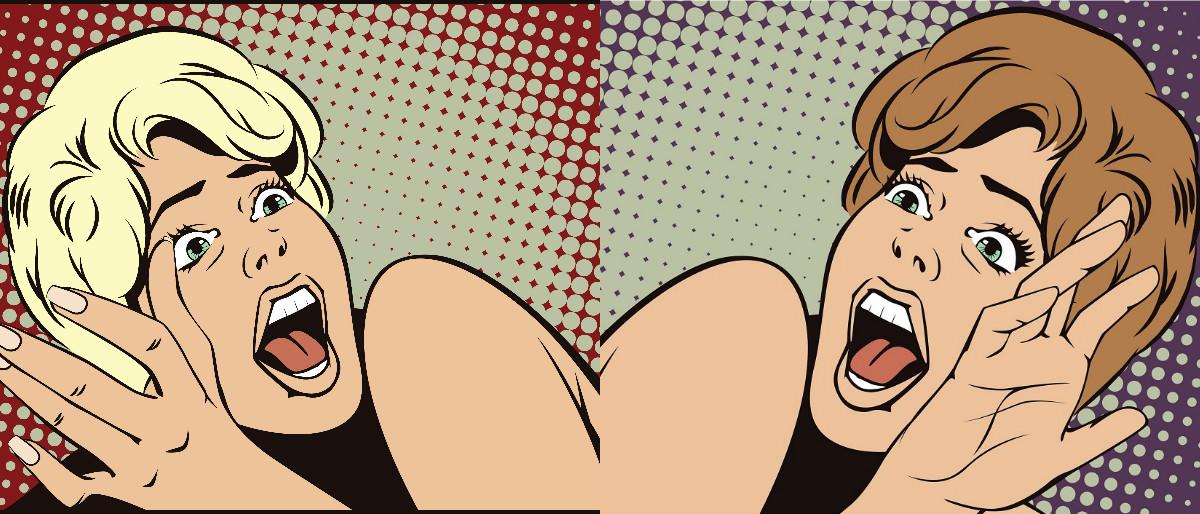 pop art panic Shutterstock/bomg