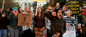 'It's Life Or Death For Us': Students Protest Racism, Police Brutality At College [VIDEO]