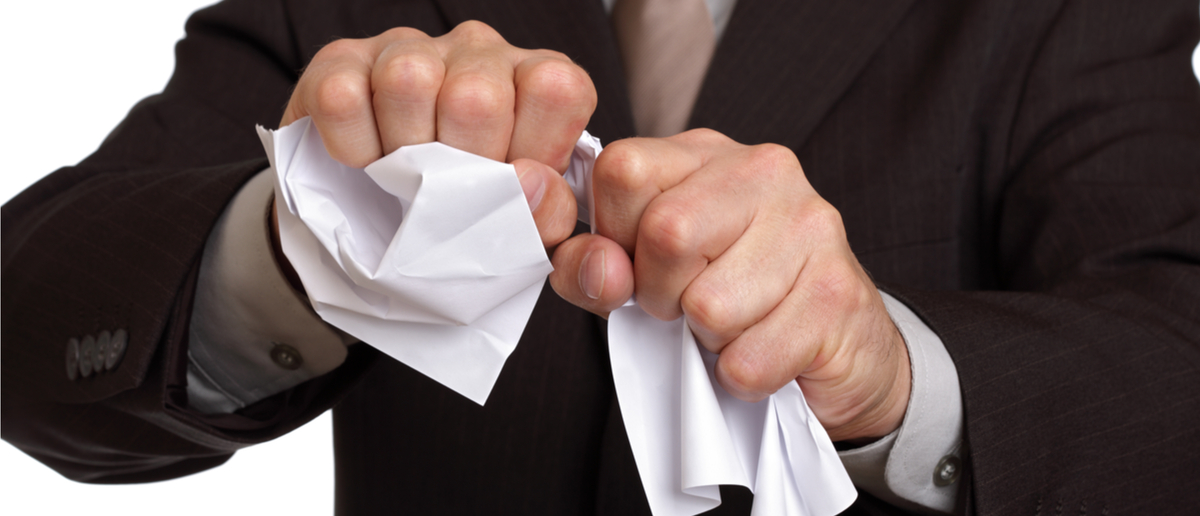 Tearing up rules and regulations, (Shutterstock/Brian A Jackson)
