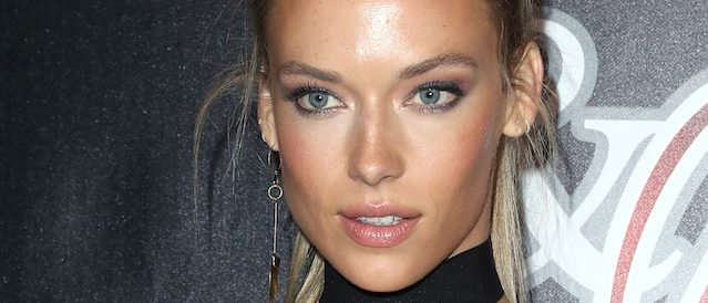 Celebrities attend the 14th Annual Leather & Laces Super Bowl Party. Held at Hughes Manor, Houston, Texas. Pictured: Hannah Ferguson Ref: SPL1434648 030217 Picture by: Photo Image Press