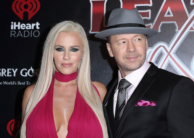 Celebrities attend the 14th Annual Leather & Laces Super Bowl Party. Held at Hughes Manor, Houston, Texas. <P> Pictured: Jenny McCarthy & Donnie Wahlberg <B>Ref: SPL1434648 030217 </B><BR /> Picture by: Photo Image Press<BR /> </P><P> <B>Splash News an
