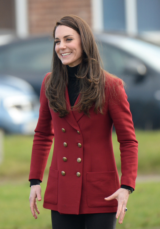 Catherine, The Duchess of Cambridge (Photo credit: Splash News)