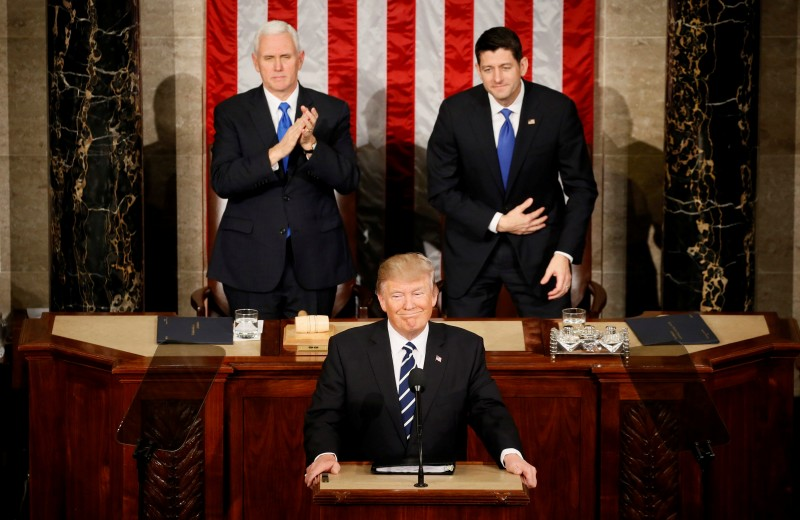 Mike Pence, Donald Trump, Paul Ryan (Reuters Pictures)