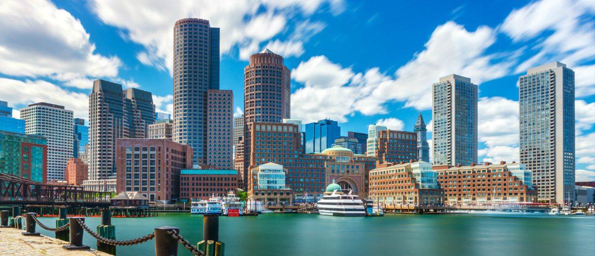 Boston skyline: shutterstock