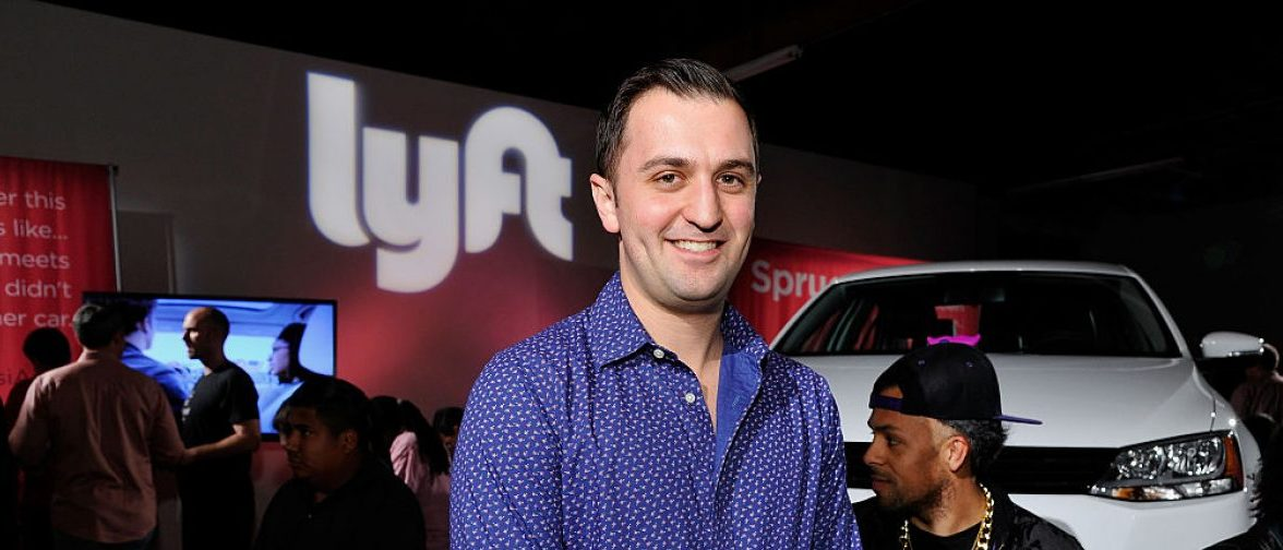 Lyft Co-founder, John Zimmer attends the Lyft driver rally at Siren Studios on January 27, 2015 in Hollywood, California. (Photo by John Sciulli/Getty Images for Lyft)