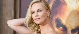 Charlize Theron Showed So Much Cleavage On The Red Carpet That People Think She Deserves An Award