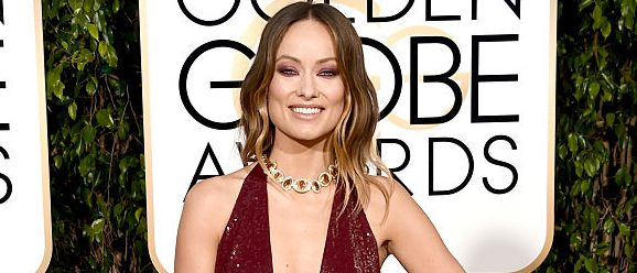 Actress Olivia Wilde attends the 73rd Annual Golden Globe Awards held at the Beverly Hilton Hotel on January 10, 2016 in Beverly Hills, California. (Photo by Jason Merritt/Getty Images)
