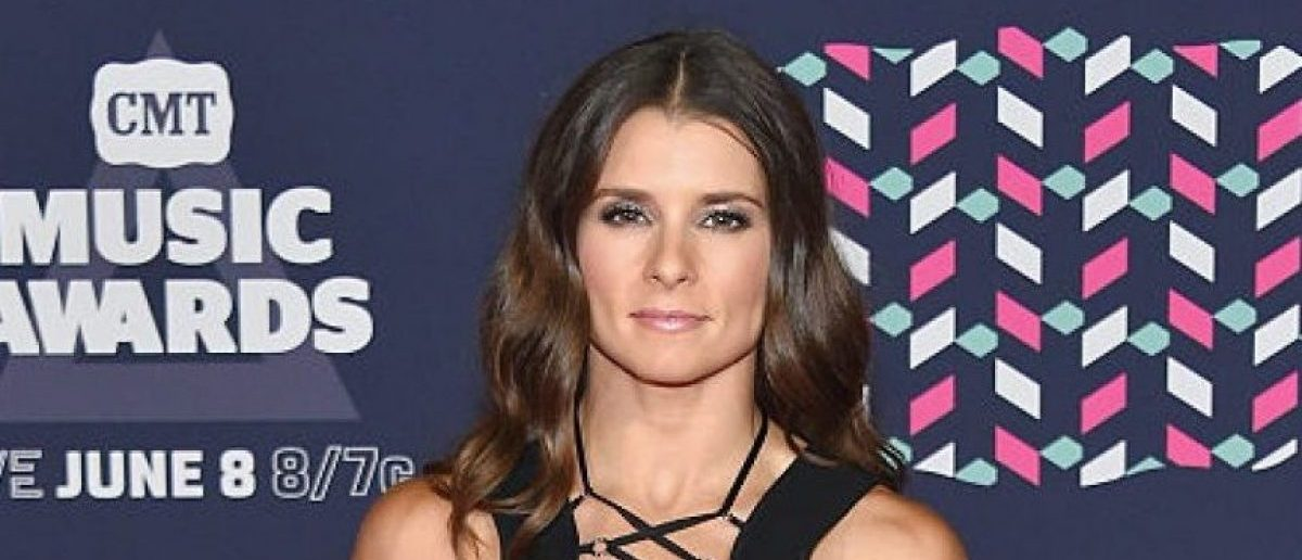 Race car driver Danica Patrick attends the 2016 CMT Music awards at the Bridgestone Arena on June 8, 2016 in Nashville, Tennessee.  (Photo by Mike Coppola/Getty Images for CMT)