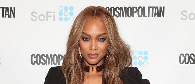 Supermodel Tyra Banks attends Cosmopolitan Fun Fearless Money 2016 on September 24, 2016 at Cedar Lake in New York City. (Photo by Cindy Ord/Getty Images for Cosmopolitan)