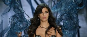 Sara Sampaio Walked The Red Carpet In Her Lingerie At Tribeca Film Festival