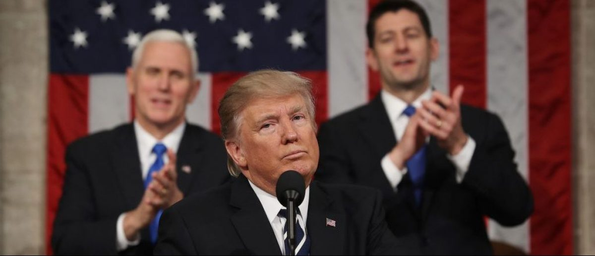 Mike Pence, Donald Trump, Paul Ryan (Getty Images)