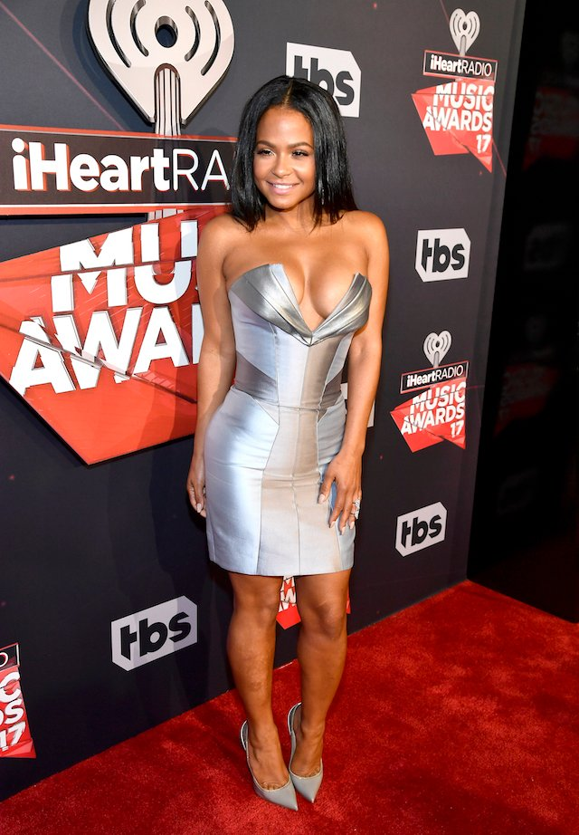 INGLEWOOD, CA - MARCH 05: TV personality Christina Milian attends the 2017 iHeartRadio Music Awards which broadcast live on Turner's TBS, TNT, and truTV at The Forum on March 5, 2017 in Inglewood, California. (Photo by Frazer Harrison/Getty Images for iHeartMedia)