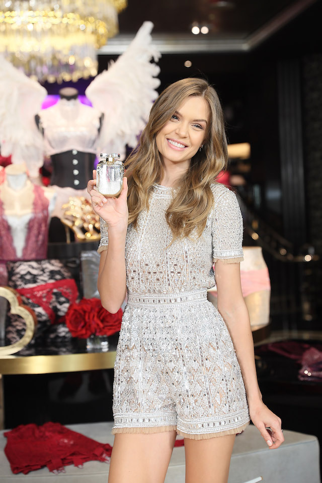 SHANGHAI, CHINA - MARCH 08: Victoria's Secret Angel Josephine Skrive attends the Grand Opening Of Victoria's Secret Shanghai Flagship Store on March 8, 2017 in Shanghai, China. (Photo by Hu Chengwei/Getty Images)