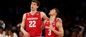 Ethan Happ, Zak Showalter (Credit: Getty Images)