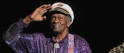 PARIS - NOVEMBER 14: Singer Chuck Berry performs at the 'Les Legendes Du Rock and Roll' concert at the Zenith on November 14, 2008 in Paris, France. (Photo by Francois Durand/Getty Images) *** Local Caption *** Chuck Berry