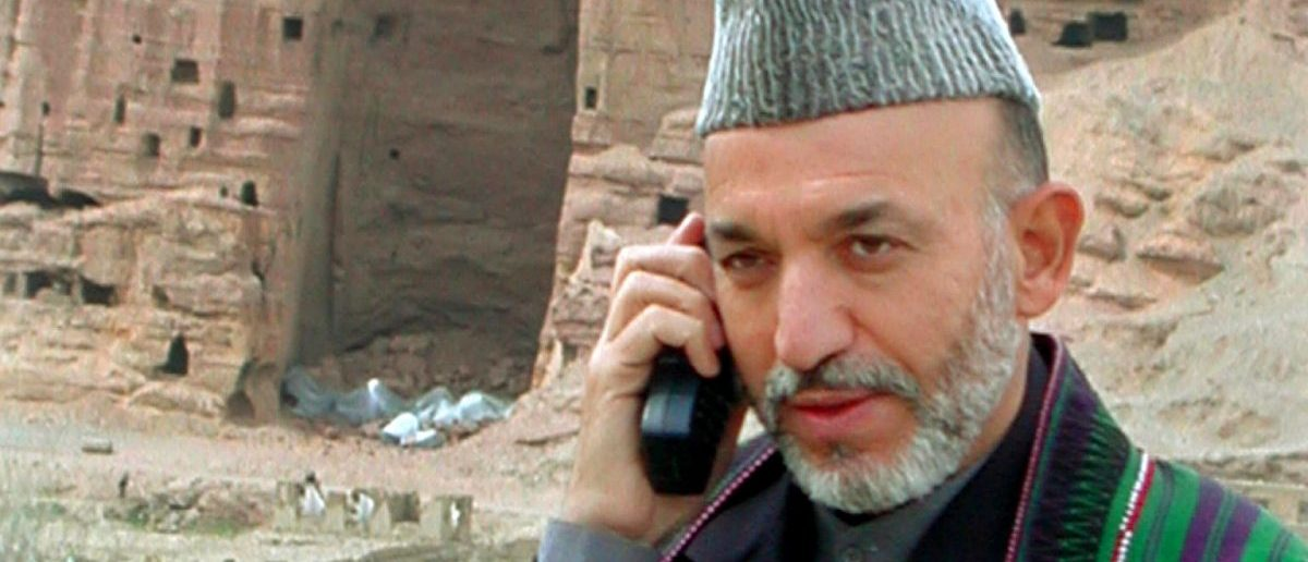 satellite phone. (Photo: REUTERS/ Salahuddin Sayed)